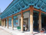The Dungan Mosque. Karakol, Kyrgyzstan
