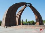 Viktory Square. Bishkek, Kyrgyzstan