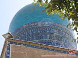 Shah-i-Zinda Necropolis (XIV c.). Samarkand, Uzbekistan