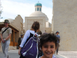 Trade dome of Bukhara. Uzbekistan