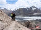 По дороге в Лагерь 1 (4400 м). Пик Ленина, Памир, Кыргызстан