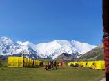 Базовый Лагерь (3600 м). Пик Ленина, Памир, Кыргызстан