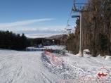 Горные лыжи в Караколе. Кресельная канатка