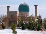 Mausolée Gour-Emir (tombeau d'Amir Temour - XV s.). Samarcande, Ouzbékistan
