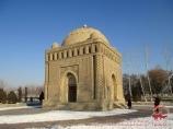Mausoleum von Samaniden (IX Jh.). Buchara, Usbekistan