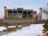Moschee Hazrat-Hyzr (VIII Jh.). Samarkand, Usbekistan