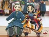 Узбекские национальные куклы из папье-маше. Народное творчество Узбекистана