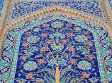 Фрагмент отделки медресе Абдулазиз-Хана, Бухара