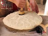 Чекич (штамп для лепешек). Приготовление узбекских лепешек