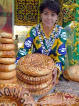 Патыр. Виды узбекских лепешек