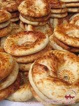 Узбекские лепешки (оби-нон). Узбекские домашние лепешки