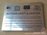 Musée ethnographique de Baysoun. Ouzbékistan, Asie Centrale