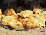 Слоеная самса. Узбекская национальная кухня