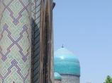 Médersa Tilla-Qari (XVII siècle). Ouzbékistan, Samarkand