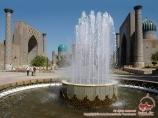 Place de Réguistan. Ouzbékistan, Samarkand