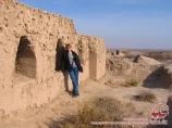 La antigua ciudad de Toprak-Kala. Khorezm, Uzbekistán