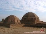 Nécropole Mizdahkan. Khorezm, Ouzbékistan
