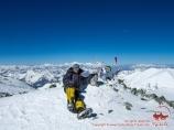 Вершина пика Ленина (7134 м). Памир, Кыргызстан