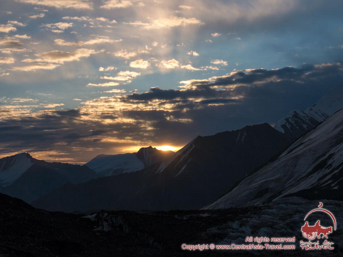 Campo 1 (4400m). Pico Lenin, Pamir, Kirguistán
