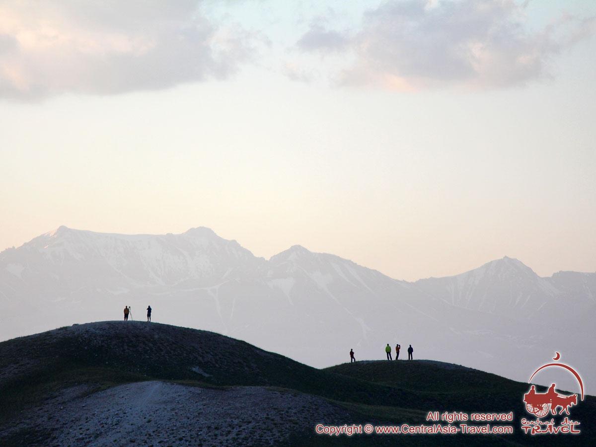Cordillera del Pamir. Kirguistán