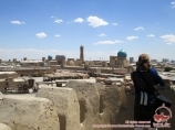 El panorama de Bukhara. Uzbekistán