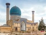 Mausoleo Gur-e Amir. Uzbekistán, Samarcanda