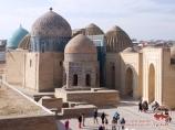 Complejo Shakhi-Zinda (XIV s.). Samarkanda, Uzbekistán