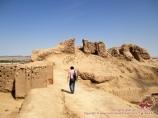 La antigua ciudad de Toprak-Kala
