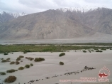 Wakhan Corridor, Tajikistan. Afghanistan on the front side