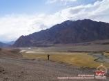 River of Murghab. Eastern Pamir, Tadjikistan