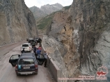 Border between Tajikistan and Afghanistan (Dushanbe - Qal'ai Khumb), Tadjikistan