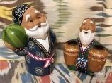 Керамические сувенирные изделия в Узбекистане