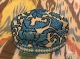 Узбекская тюбетейка - традиционный головной убор. Сувениры Узбекистана