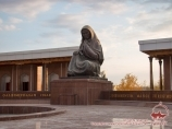 Monument of the mourning mother. Nukus, Uzbekistan