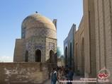 Shah-i-Zinda Necropolis (14th c.). Samarkand, Uzbekistan